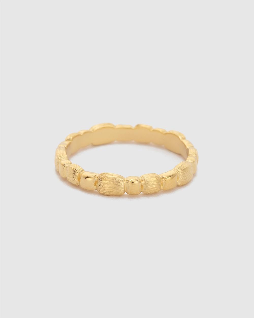 Kirstin Ash Cascade Ring Jewellery Gold