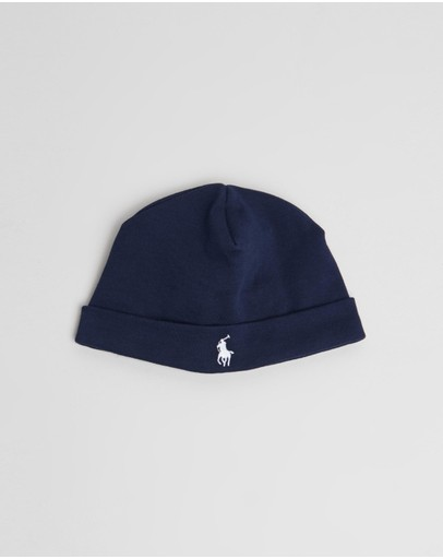 Polo Ralph Lauren - Cotton Interlock Beanie - Babies