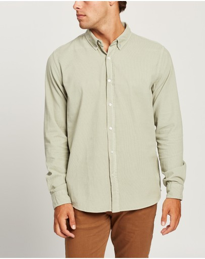 Assembly Label - Cord Shirt - Men's