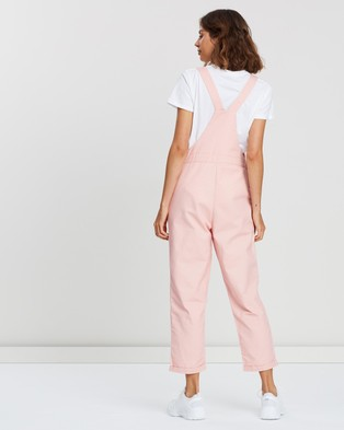 Atmos&Here Bobbie Overalls - Jumpsuits & Playsuits (Pastel Pink)