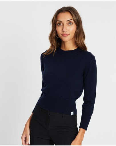 Mcintyre - Polly Cropped Merino Jumper