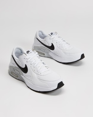 Nike Nike Air Max Excee   Women's - Low Top Sneakers (White, Black & Pure Platinum)