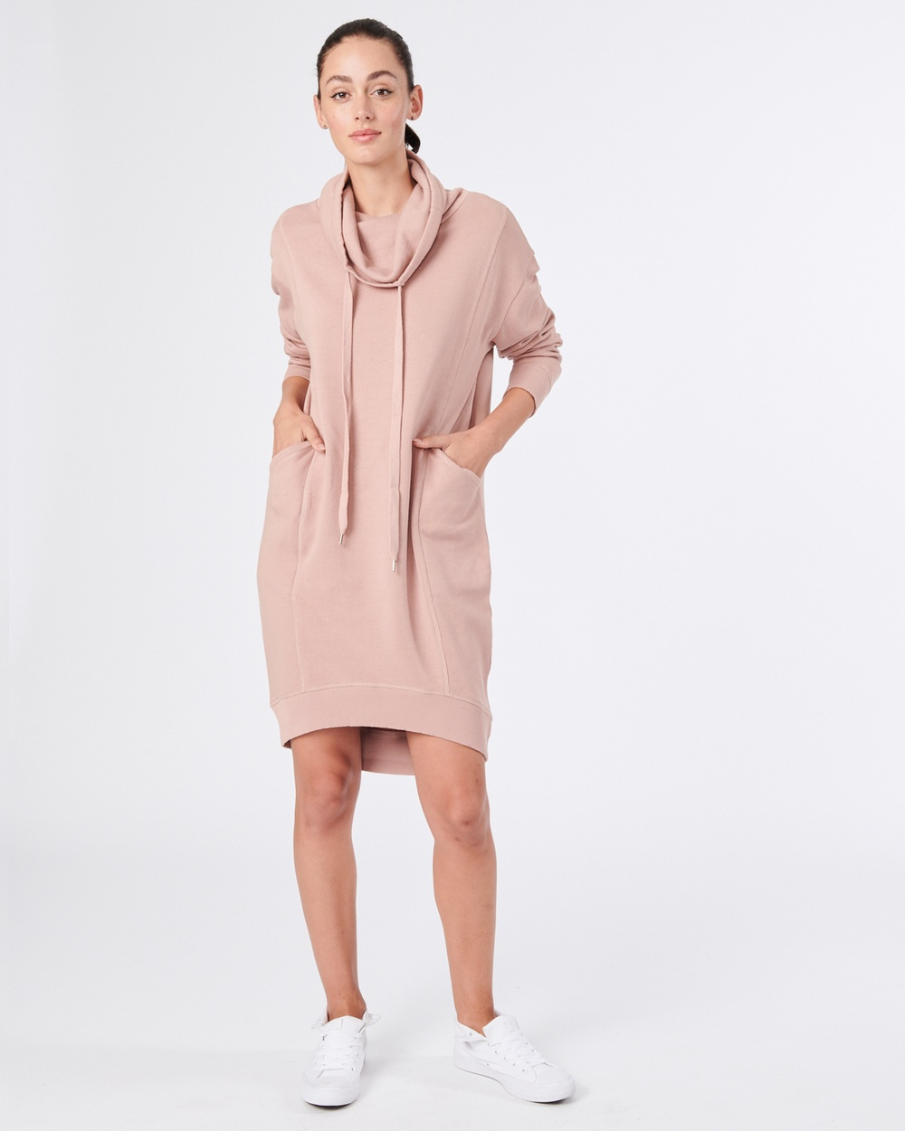 jac + mooki Dalston Dress Dresses Pink Dalston Dress