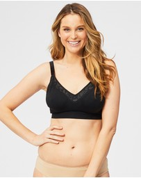 Cake Maternity - Sugar Candy Lux Wireless Fuller Bust Seamless Lounge Bra (for F-H Cups)
