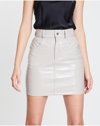 Michael Lo Sordo - Patent Mini Skirt