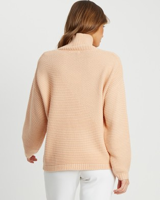Tussah Kahlia Jumper - Jumpers & Cardigans (Dusty Pink)