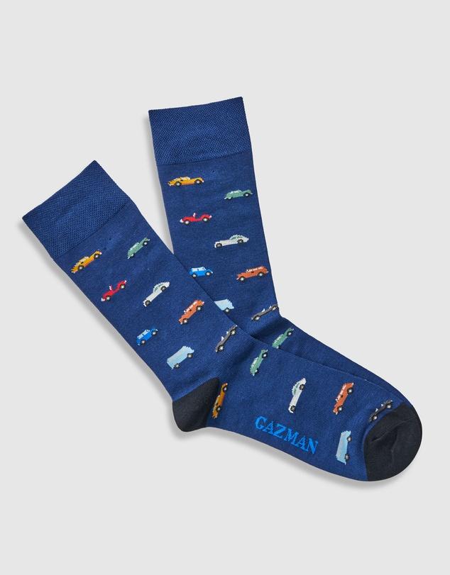 Men Non Tight Vroom Vroom Sock