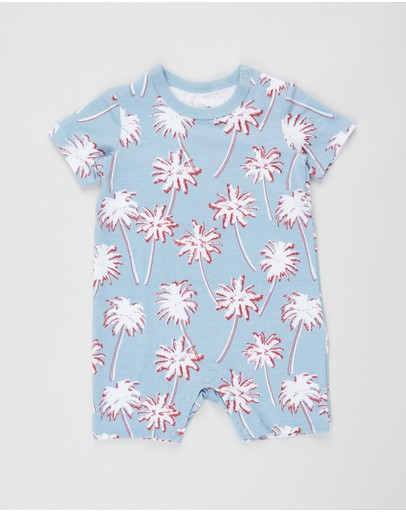 Cotton On Baby - The Short Sleeve Romper - Babies