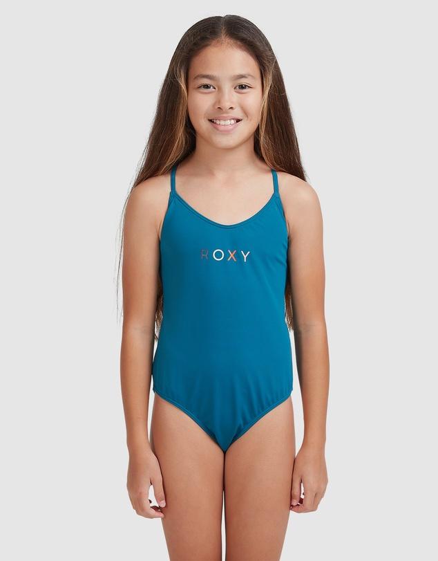 Kids Girls 8-14 Summer Of Surf One Piece Swimsuit