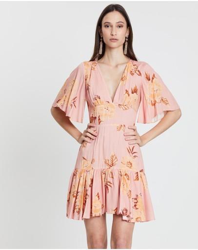 Keepsake The Label Forever Mini Dress Tan Gardenia