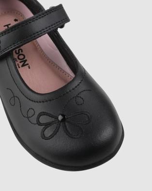 Harrison Amber School Shoes - Flats (Black)