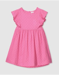 Milky - Broderie Dress - Kids