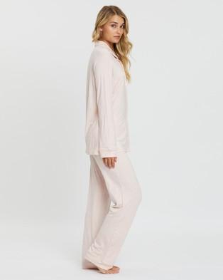 Papinelle Modal Kate Full Length Pyjama Set - Two-piece sets (Rose)