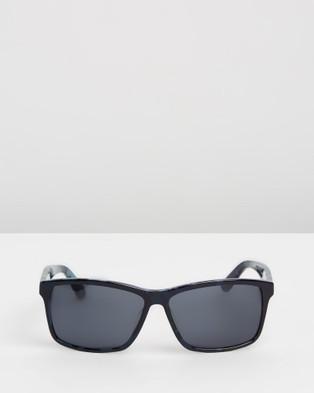 Lacoste L705S - Sunglasses (Blue & Camo)