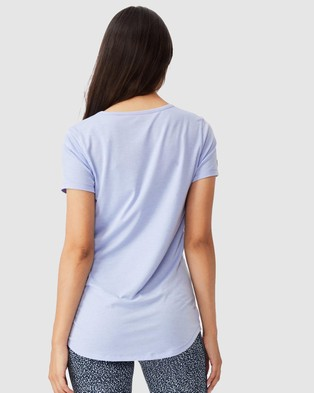 Cotton On Body Active Maternity Gym T Shirt - Short Sleeve T-Shirts (Cornflower Lilac)