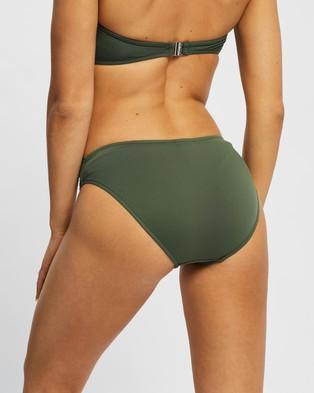 Seafolly Twist Band Hipster Bottoms - Bikini Bottoms (Ivy)