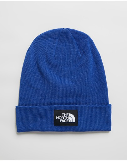 The North Face Dock Worker Recycled Beanie Tnf Blue & Black