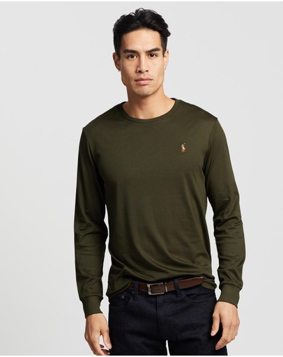 Polo Ralph Lauren - Custom Slim Fit Long Sleeve T-Shirt