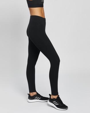 adidas Performance Essentials 7 8 Leggings - 7/8 Tights (Black & White)