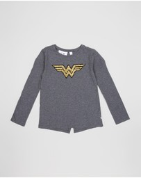 GapKids - DC™ Wonder Woman Flippy Sequin T-Shirt - Kids-Teens