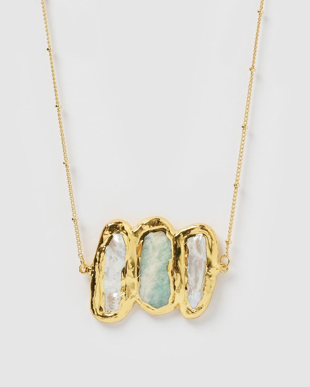 Miz Casa and Co Adri Necklace Jewellery Gold
