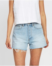 Jag - Rae Rigid Denim Shorts