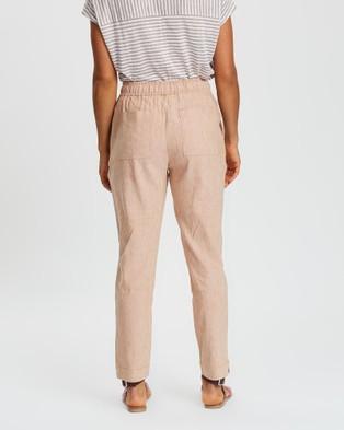 Sportscraft Rosita Linen Pants - Pants (brown)