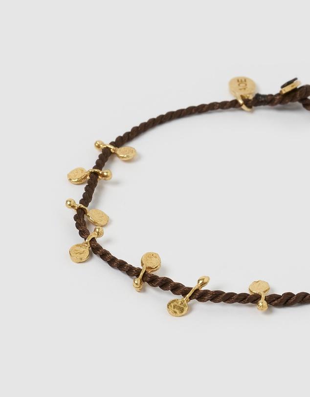 Women Jai Gold Bracelet - Brown