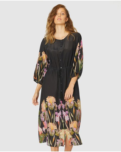Gorman - Iris Black Long Dress