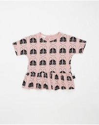 Huxbaby - French Shades Wide Frill Top - Kids