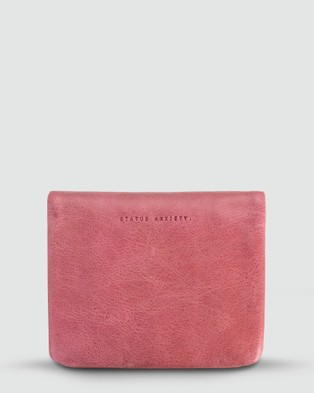 Status Anxiety Norma   Pink Wallet - Wallets (Pink)
