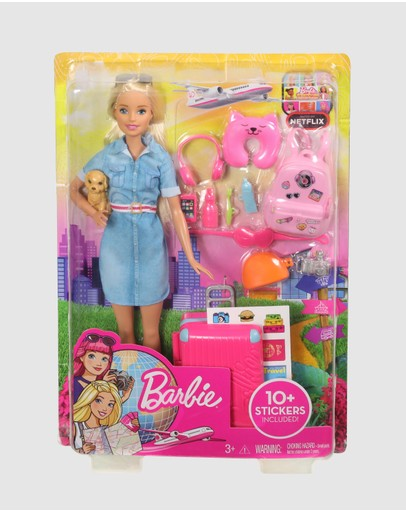 Barbie - Travel Lead Doll