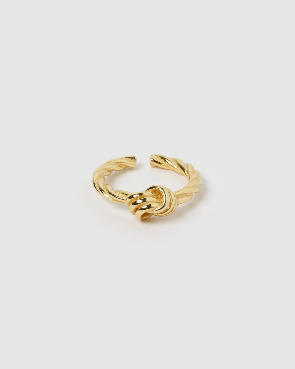 Izoa Annabelle Knot Ring Jewellery Gold