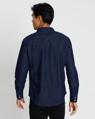 Levi's Barstow Western Standard Shirt - Casual shirts (Red Cast Rinse)