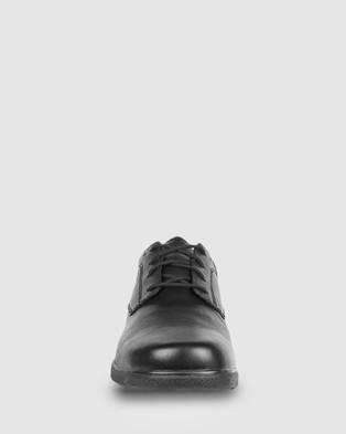 Ascent Scholar   D Width - School Shoes (Black)