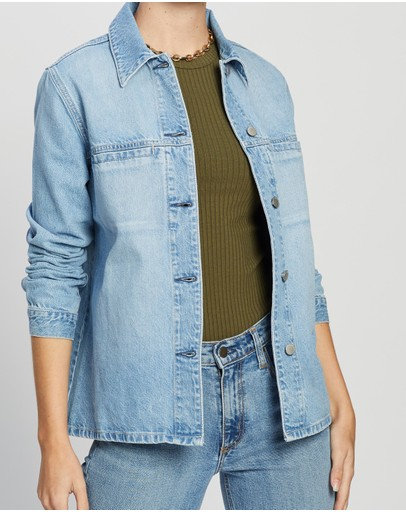 Nobody Denim - Juncture Long Shirt Jacket