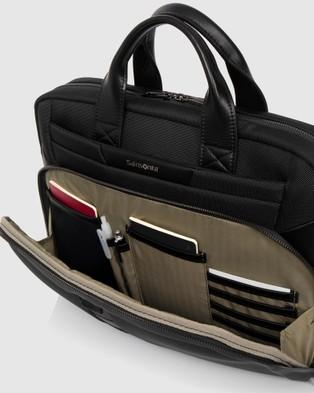 Samsonite Business Vigon Pro Slim Briefcase Tcp - Bags (Black)