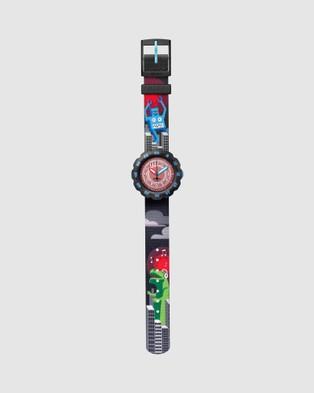 Flik Flak T ROCKS - Watches (Black)