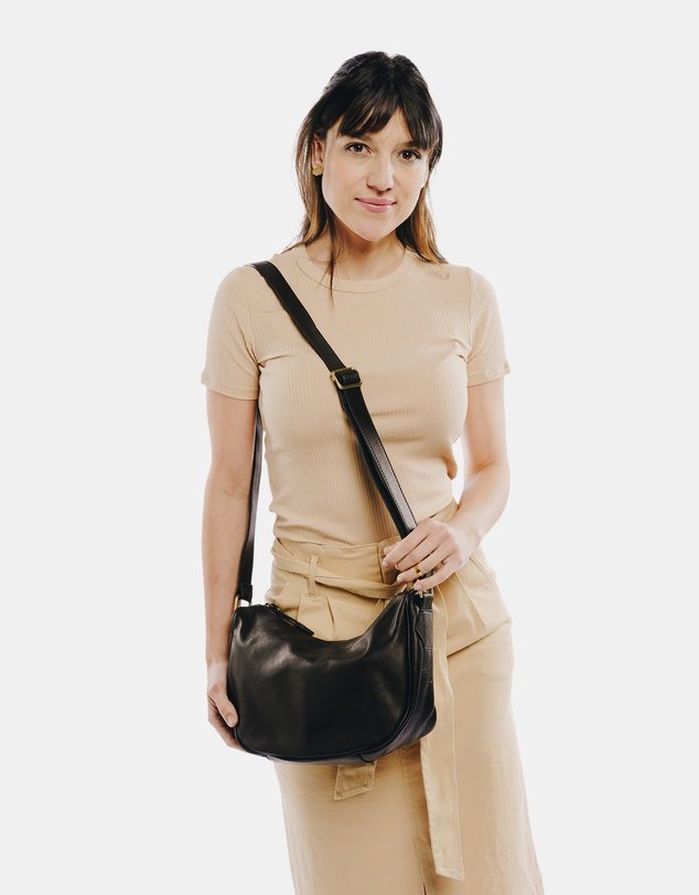 Women Brooklyn Leather Crossbody