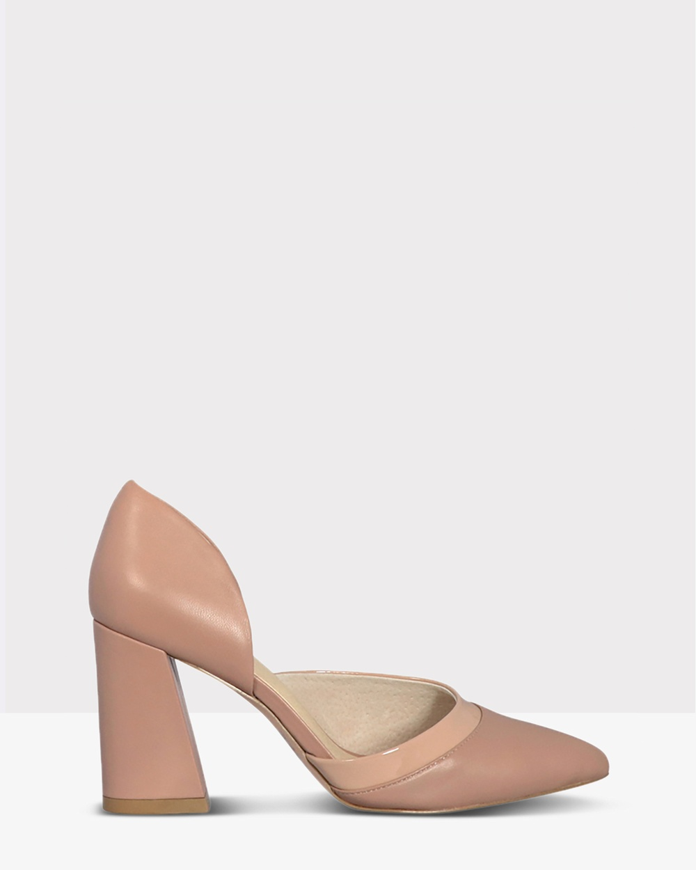Nude Alexis All Pumps LATTE LEATHER Alexis
