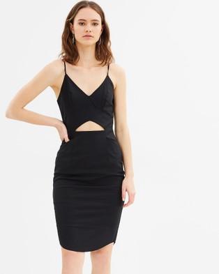 Grace Willow – Vivian Bodycon Dress – Bodycon Dresses (Black)