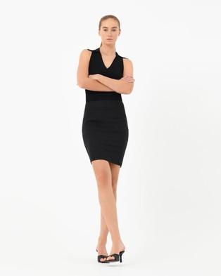Forcast Sandy Pencil Skirt - Pencil skirts (Black)