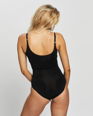 Spanx OnCore Open Bust Panty Bodysuit - Lingerie Accessories (Very Black)