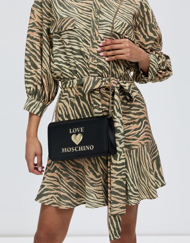 Women PU Logo Bag