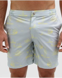 Mosmann - Surfing Buddha Swim Shorts