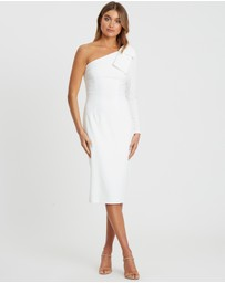 CHANCERY - Perry One-Shoulder Midi Dress