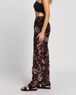 LENNI the label Firefly Burnout Pants - Pants (Rose)