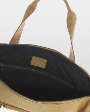 Cobb & Co Southport Soft Leather Duffle Bag - Duffle Bags (Camel)