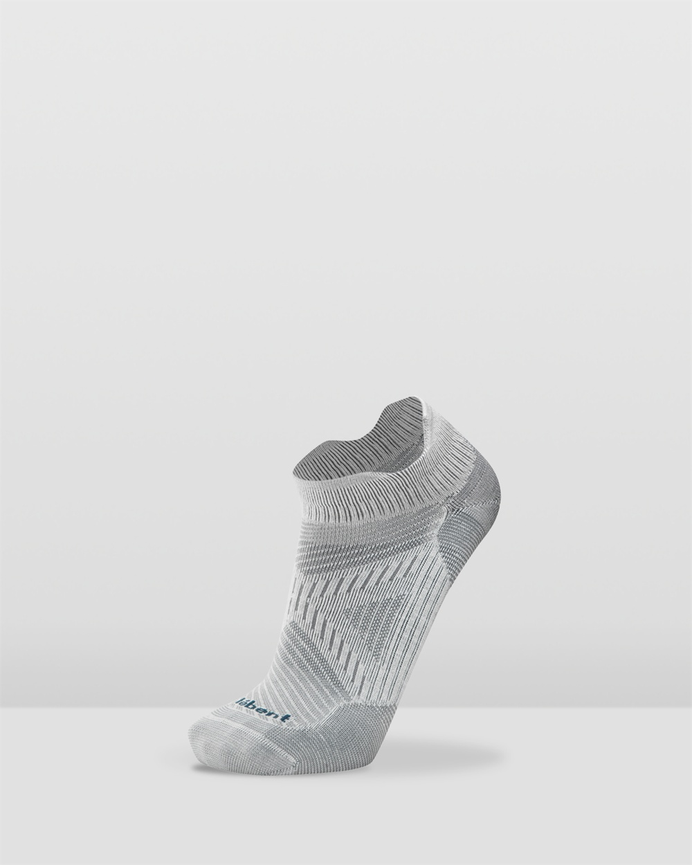 Le Bent Run Ultra Light Micro Tab Socks Ankle White