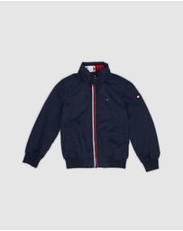 Tommy Hilfiger - Essential Logo Collar Hooded Jacket - Kids
